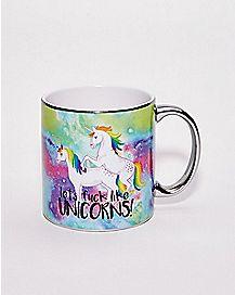 Let's Fuck Like Unicorns Coffee Mug - 22 oz.