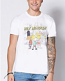 Trio Hey Arnold! T Shirt