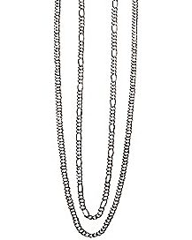 Figaro Double Chain Necklace