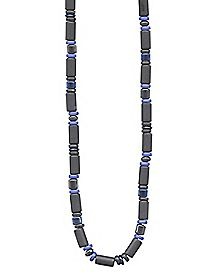 Tubes and Disks Necklace