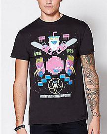 8 Bit Aqua Teen Hunger Force T Shirt