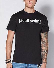 Logo Adult Swim T Shirt