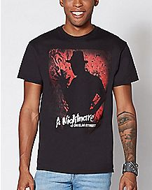 Freddy Shadow A Nightmare on Elm Street T Shirt