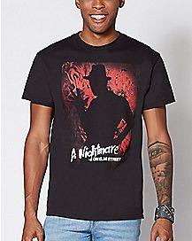 Freddy Shadow A Nightmare on Elm Street T Shirt