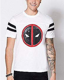 Varsity Deadpool T Shirt - Marvel