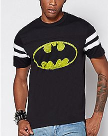 Varsity Batman T Shirt - DC Comics