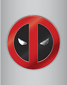 Adhesive Deadpool Emblem - Marvel