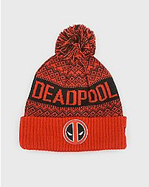 Pom Deadpool Beanie Hat - Marvel