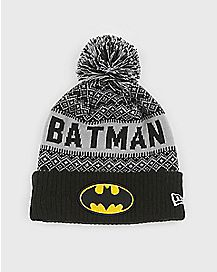 Pom Batman Beanie Hat - DC Comics