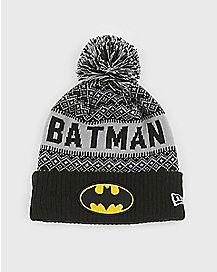 Pom Batman Beanie Hat - DC Comics