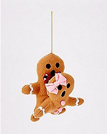 Humping Gingerbread Christmas Ornament