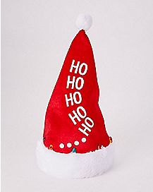 Light Up Dancing Santa Hat