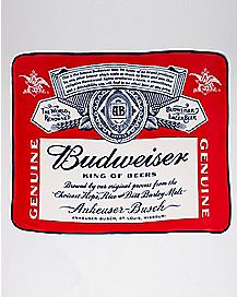 Budweiser Fleece Blanket