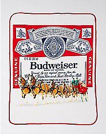 Budweiser Fleece Blanket