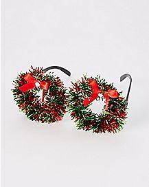 Christmas Wreath Glasses