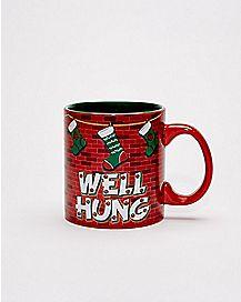 Well Hung Christmas Coffee Mug - 20 oz.