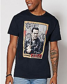 Negan T Shirt - The Walking Dead