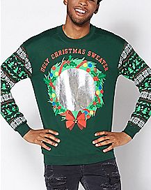 Mirror Ugly Christmas Sweater