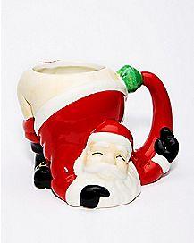 Santa Butt Coffee Mug