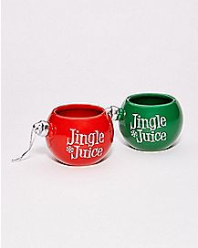 Jingle Juice Shot Glass Set 2 Pack