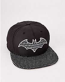 Perforated Batman Snapback Hat - DC Comics