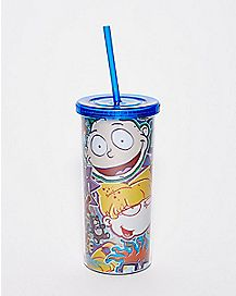 Rugrats Cup With Straw - Nickelodeon