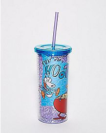 Rocko's Modern Life Cup With Straw 20 oz. - Nickelodeon