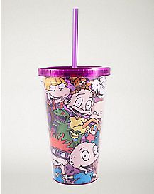 Rugrats Cup with Baby Bottle Ice Cubes