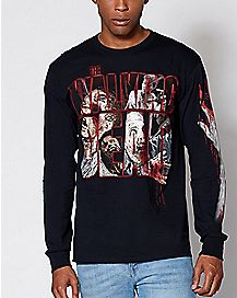 Long Sleeve The Walking Dead T Shirt