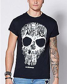 The Walking Dead Skull T Shirt