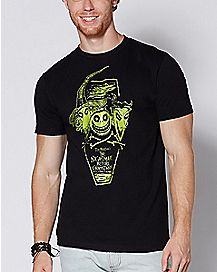 Glow in the Dark Lock Shock and Barrel T Shirt - The Nightmare Before Christmas