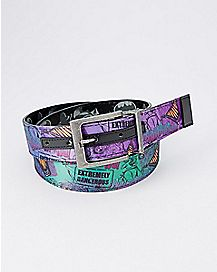 Reversible Batman Joker Belt - DC Comics