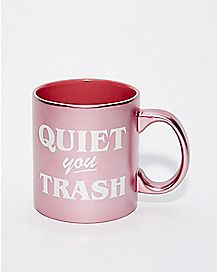 Quiet You Trash Blanche Coffee Mug 20 oz. - Golden Girls