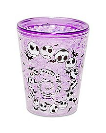 Jack Skellington Mini Glass 1.5 oz - The Nightmare Before Christmas
