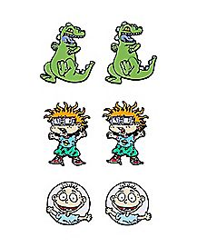 Rugrats Stud Earrings 3 Pair - Nickelodeon