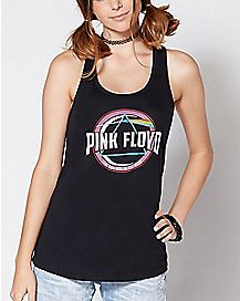 Dark Side Of The Moon Pink Floyd Tank Top