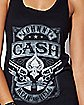 Mean As Hell Johnny Cash Tank Top