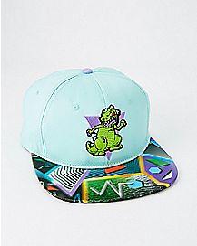 Lenticular Reptar Snapback Hat - Rugrats