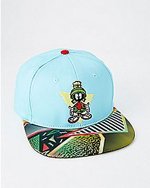 Lenticular Marvin The Martian Snapback Hat - Looney Tunes