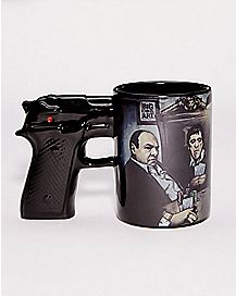 Gangster Gun Coffee Mug - 15 oz.