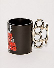 Brass Knuckle Mug - The Walking Dead