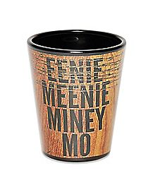 Eenie Meenie Miney Mo Shot Glass 1.5 oz. - The Walking Dead