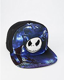 Jack Skellington Snapback Hat - The Nightmare Before Christmas