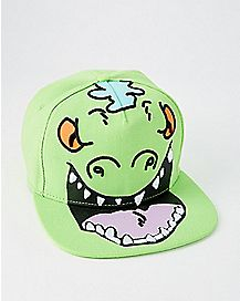 Big Face Reptar Snapback Hat - Rugrats
