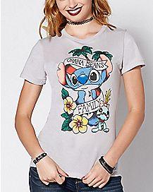Tattoo Ohana Stitch T Shirt - Lilo & Stitch