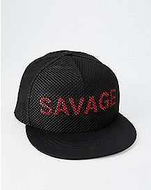 Mesh Savage Snapback Hat