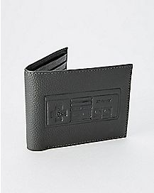 Leather Nintendo Bifold Wallet with Gift Box