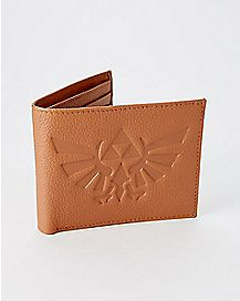 Leather Zelda Bifold Wallet with Gift Box - The Legend of Zelda