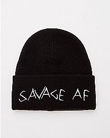 Savage AF Beanie Hat