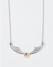 Snitch Necklace - Harry Potter